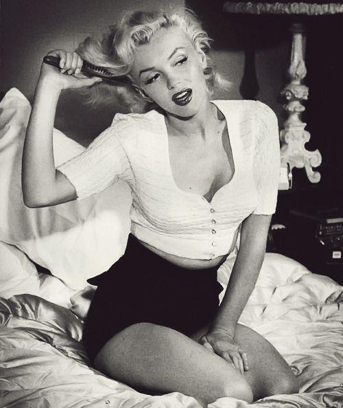 Geez.   Marilyn by Bob Beerman, 1953.