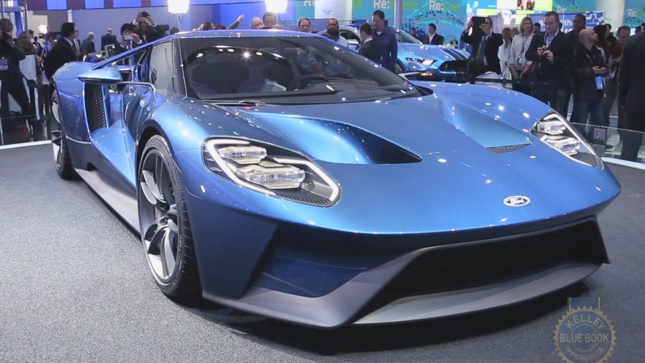 2017 Ford GT - 2015 Detroit Auto Show. -KBB | Cars That Go Vroom ...