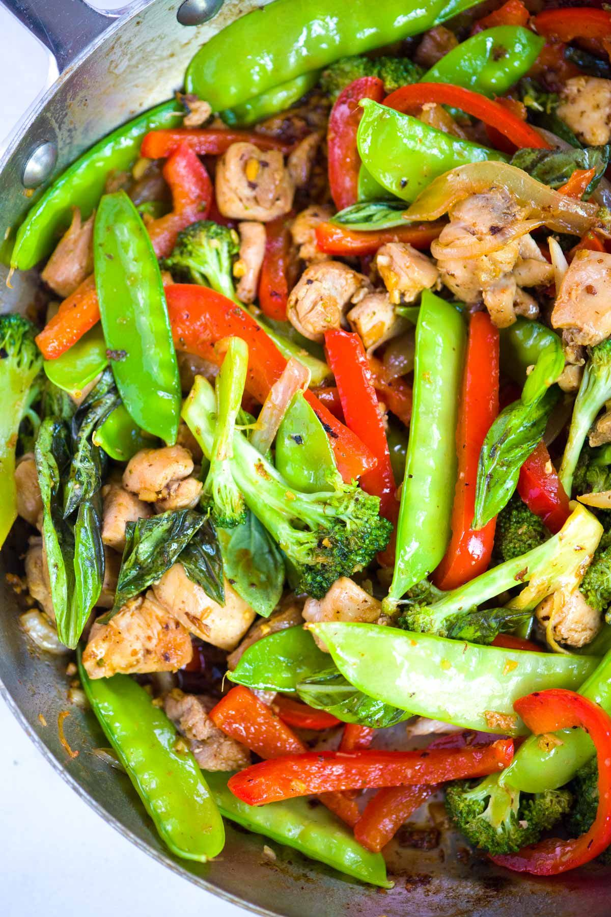 Photo of 30-Minute Ginger Chicken Stir Fry