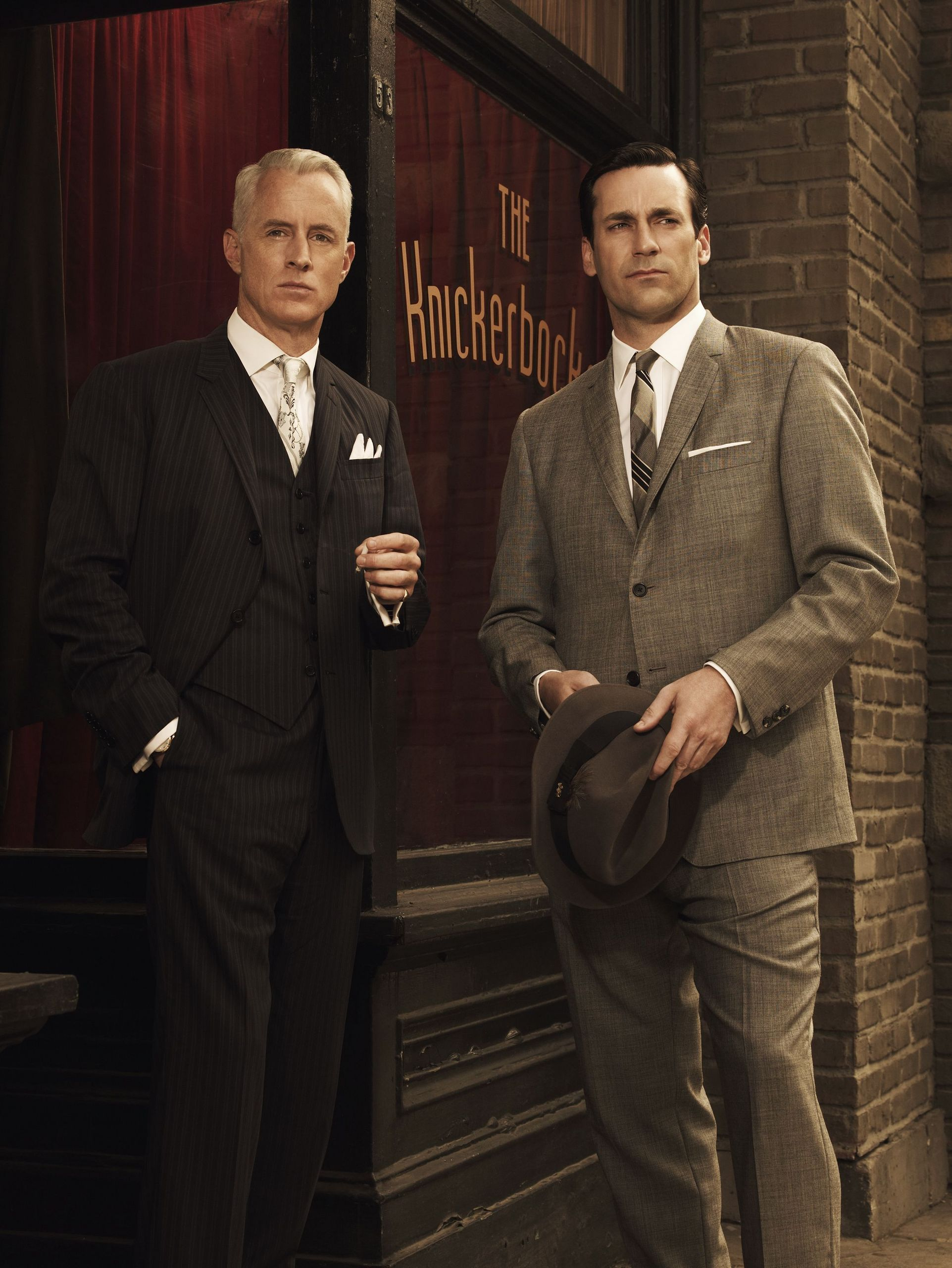 Don Draper & Roger Sterling from MAD MEN!   :)
