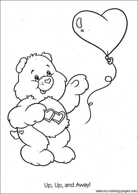 baby care bears coloring pages - photo #20