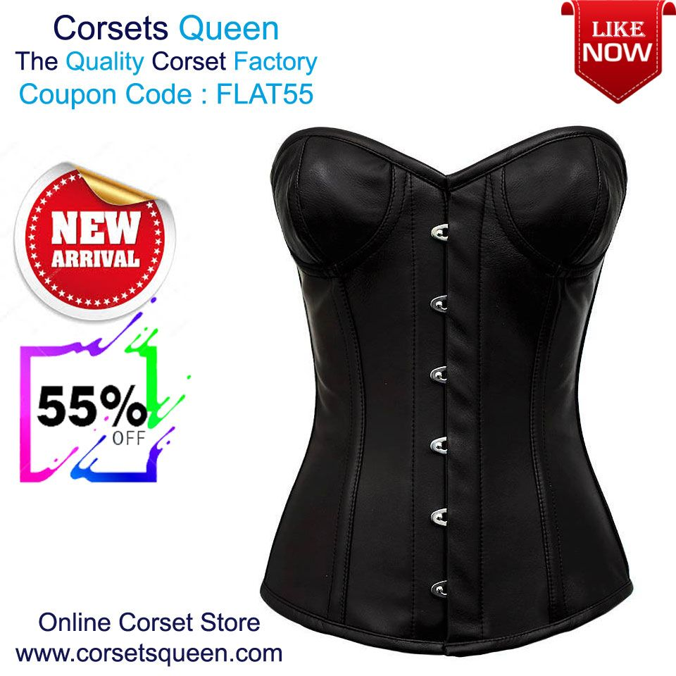 9ecc0e2ca04 New Collection Sale - Flat 55% OFF Girrourd Real Leather Overbust Gothic  Corset With Cups  corsetsqueen  corsetdress  fashioncorset  womencorset   women ...