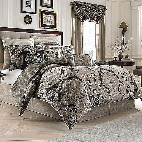 Croscill Augusta Reversible Comforter Set Comforter Sets Bedding Sets California King Bedding Sets King comforter sets with sheets