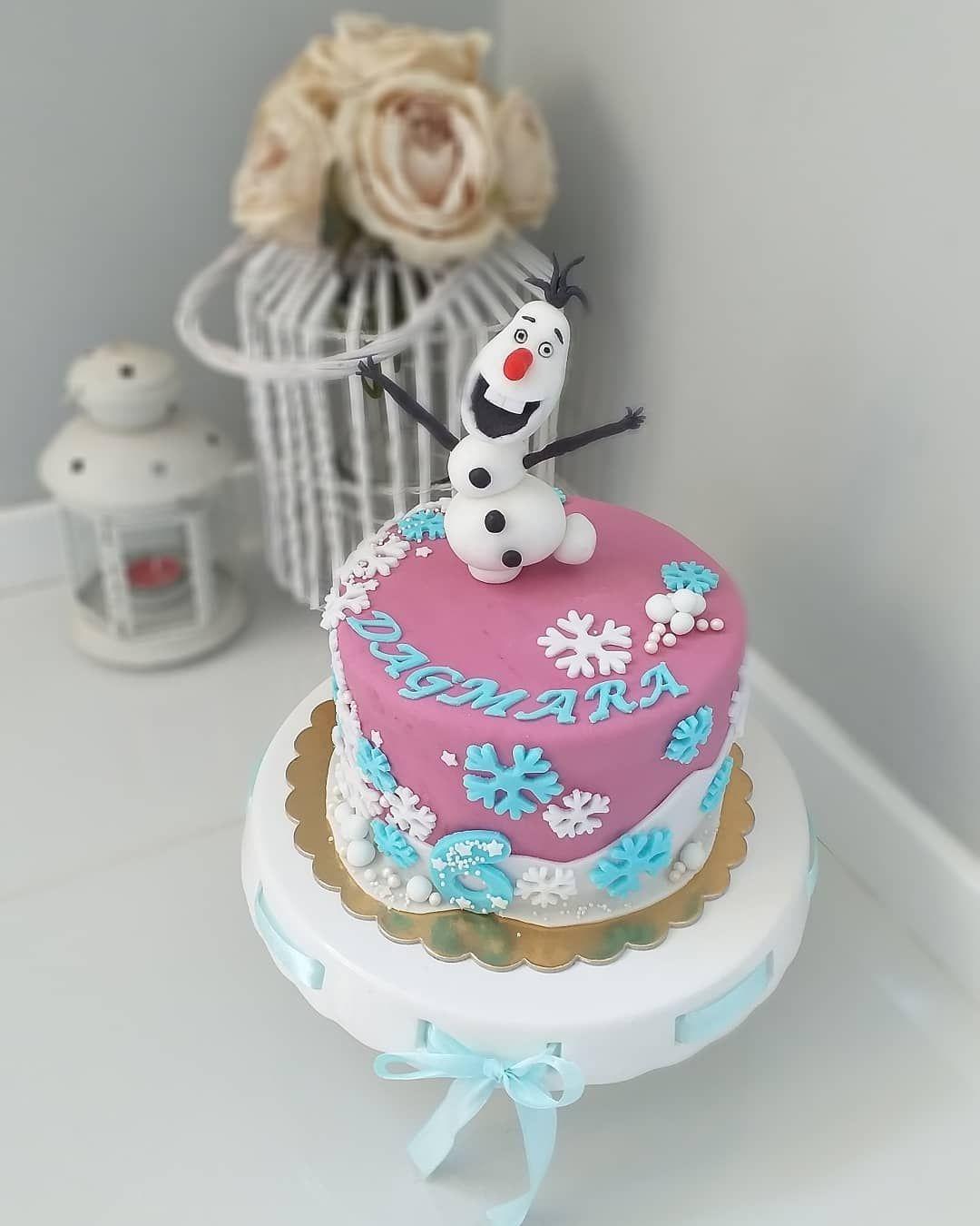 Tort Kraina Lodu With Images Przyjecie Dla Dzieci Tort Ciasta