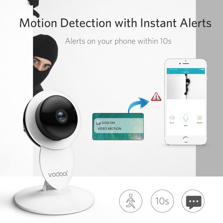 Home Camera, Vodool 1080p HD Smart Wireless