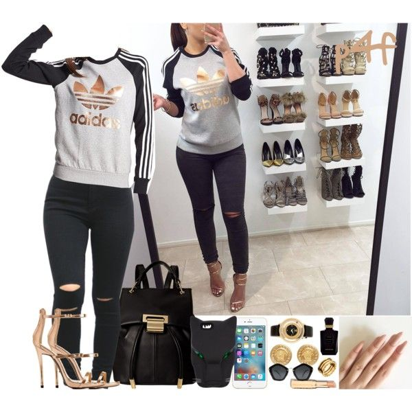 Passion 4Fashion: A.D.I.D.A.S. by shygurl1 on Polyvore featuring polyvore,  adidas Originals, Charlotte Russe · Ivanka TrumpFashion SetsCharlotte ...