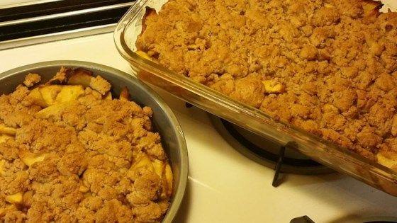 Best Apple Crisp Ever Recipe Desserts Pinterest Sliced