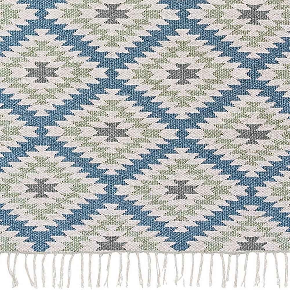 "Liv Interior Outdoor-Teppich ""Apache"" (blau-grün"