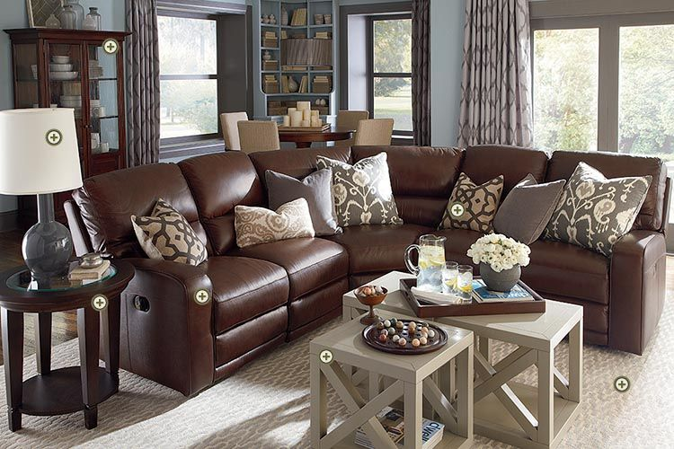 Bassett Rooms We Love Versa Motion Sectional Axis Cube