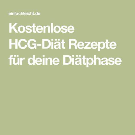 Kostenlose HCG-Diät Rezepte für deine Diätphase – Stoffwechselkur
