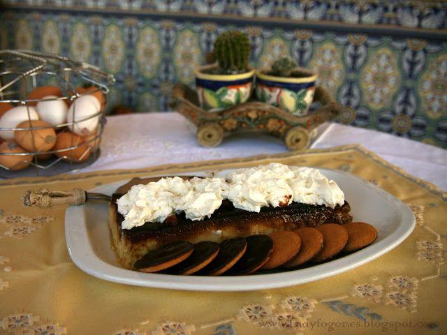 Delicioso pudding, elaborado con pan.