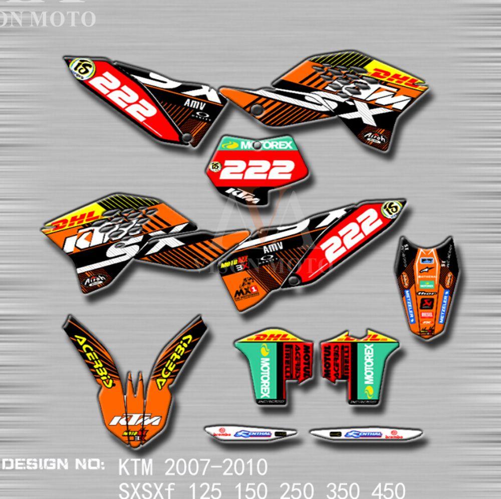 Orange SX-F 11-12 Acerbis Plastik-Kit Full-Kit KTM SX 125//150//250 2012