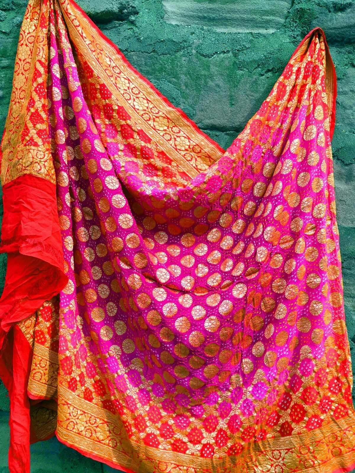 f9da9e30b7 Bandhani dupattas beautiful!!!!! | indian attires | Indian bridal ...