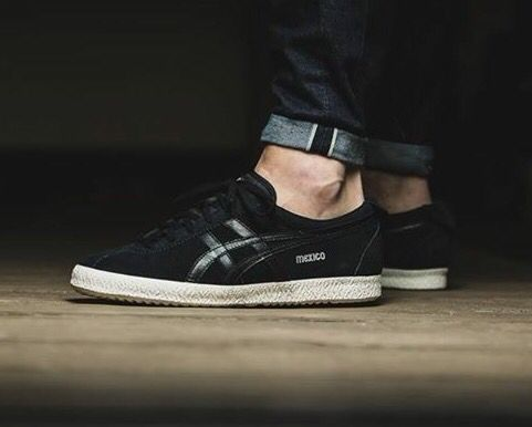 low priced 5c154 17c50 Onitsuka Tiger Mexico Delegation: Black | Sneakers in 2019 ...