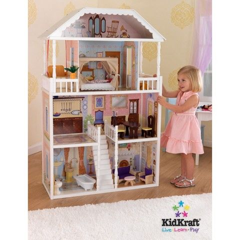 Kidkraft Savannah Dollhouse Play Set Large Dolls House Barbie