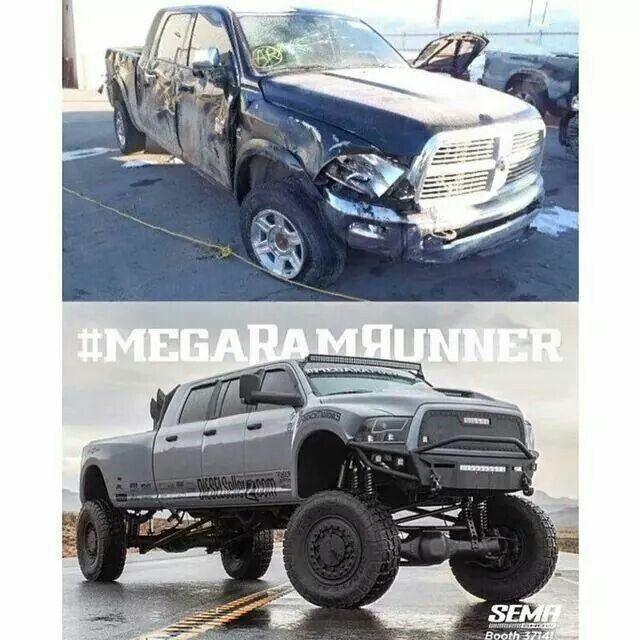 Before After Diesel Trucks Trucks Monster Trucks