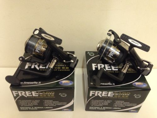 2 x new free carp 60 lineaeffe carp #fishing #reels + line 3bb bait #runner reel,  View more on the LINK: http://www.zeppy.io/product/gb/2/381022520845/