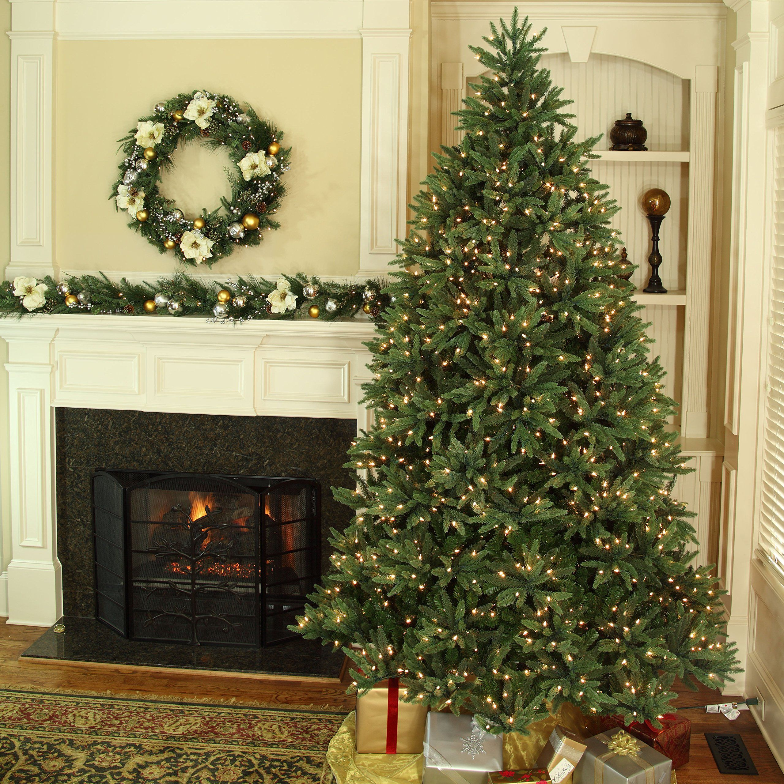 Noble Fir Artificial Christmas Tree Prelit Christmas Tree