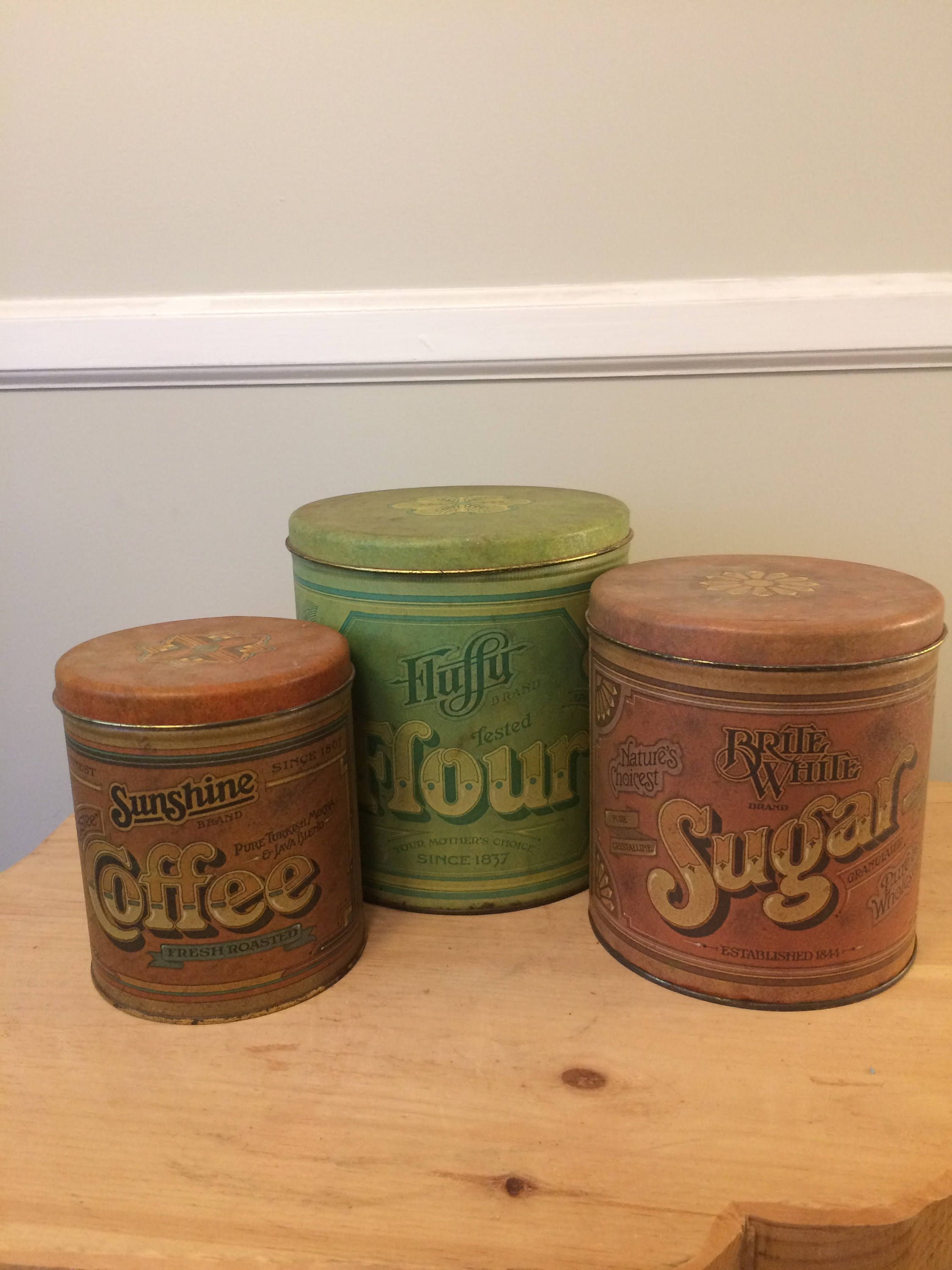 Your Place To Buy And Sell All Things Handmade Vintage Tins Canisters Vintage Tin Tin Canisters