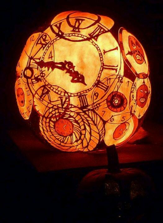 Clock gears gourd