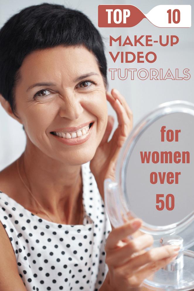 Top 10 Makeup Video Tutorials For Women Over 50 Skin