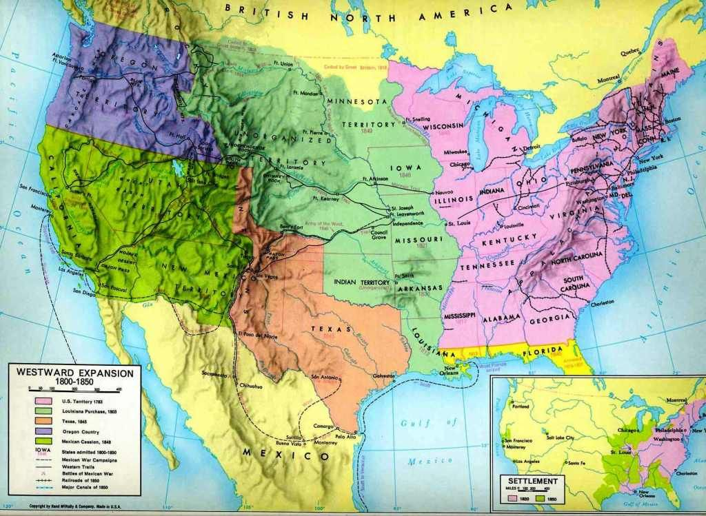 This Would Be A Nice Thing To Have In The Classroom It Breaks The United States Up Into Territories As They Once Where