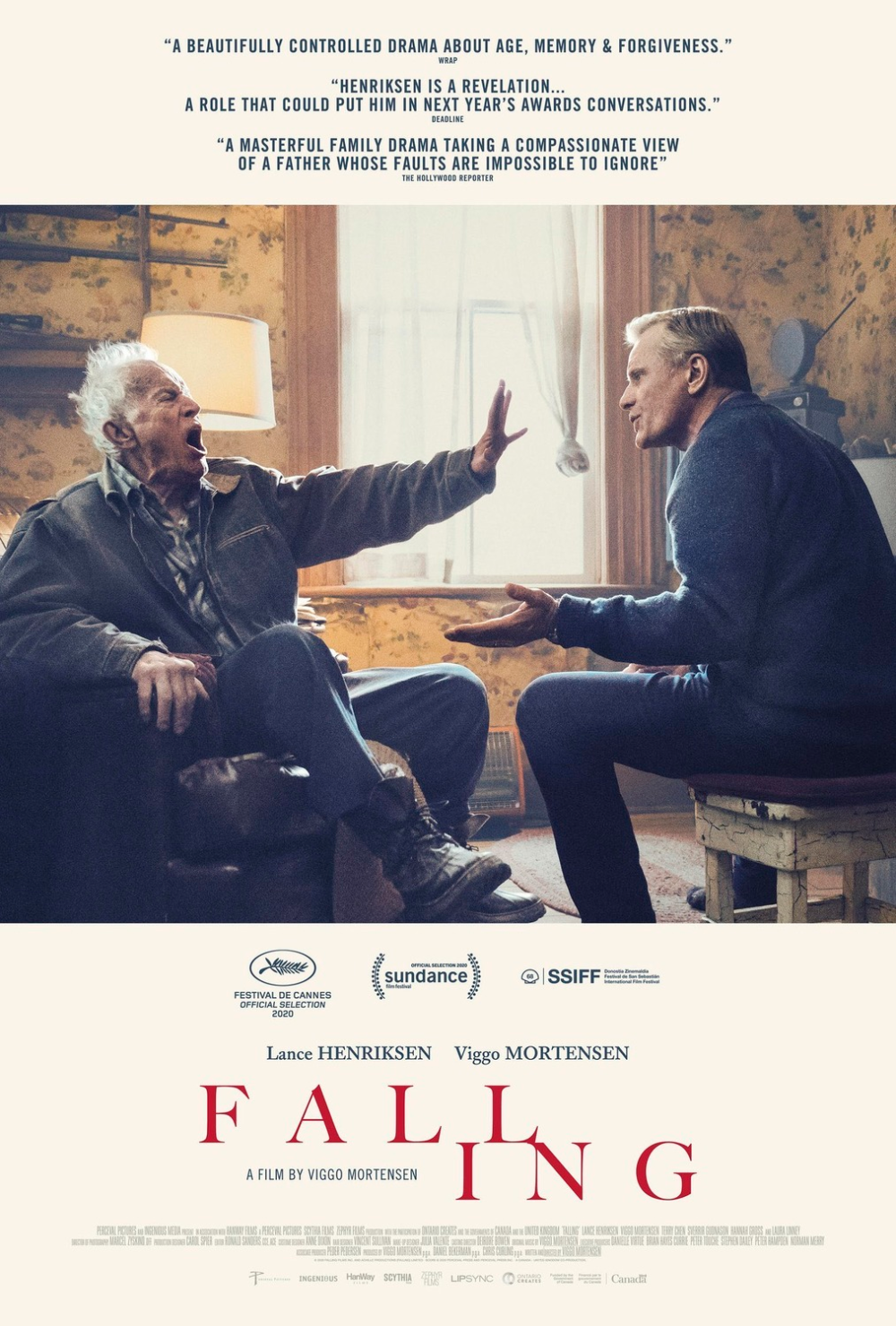 Return to the main poster page for Falling (#1 of 3) | Amblin  entertainment, Streaming movies, Movie posters