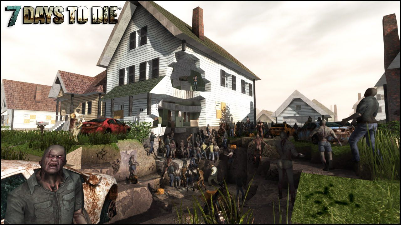 7 Days To Die Surviving Zombies Hordes Dogs Bears More