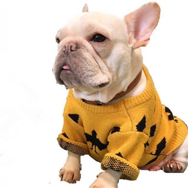 Bulldog Francese Vestiti Cappotto Cane Invernale Vestito