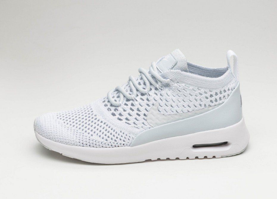 b5183a671305c Nike Wmns Air Max Thea Ultra Flyknit (Pure Platinum   Pure Platinum - White)