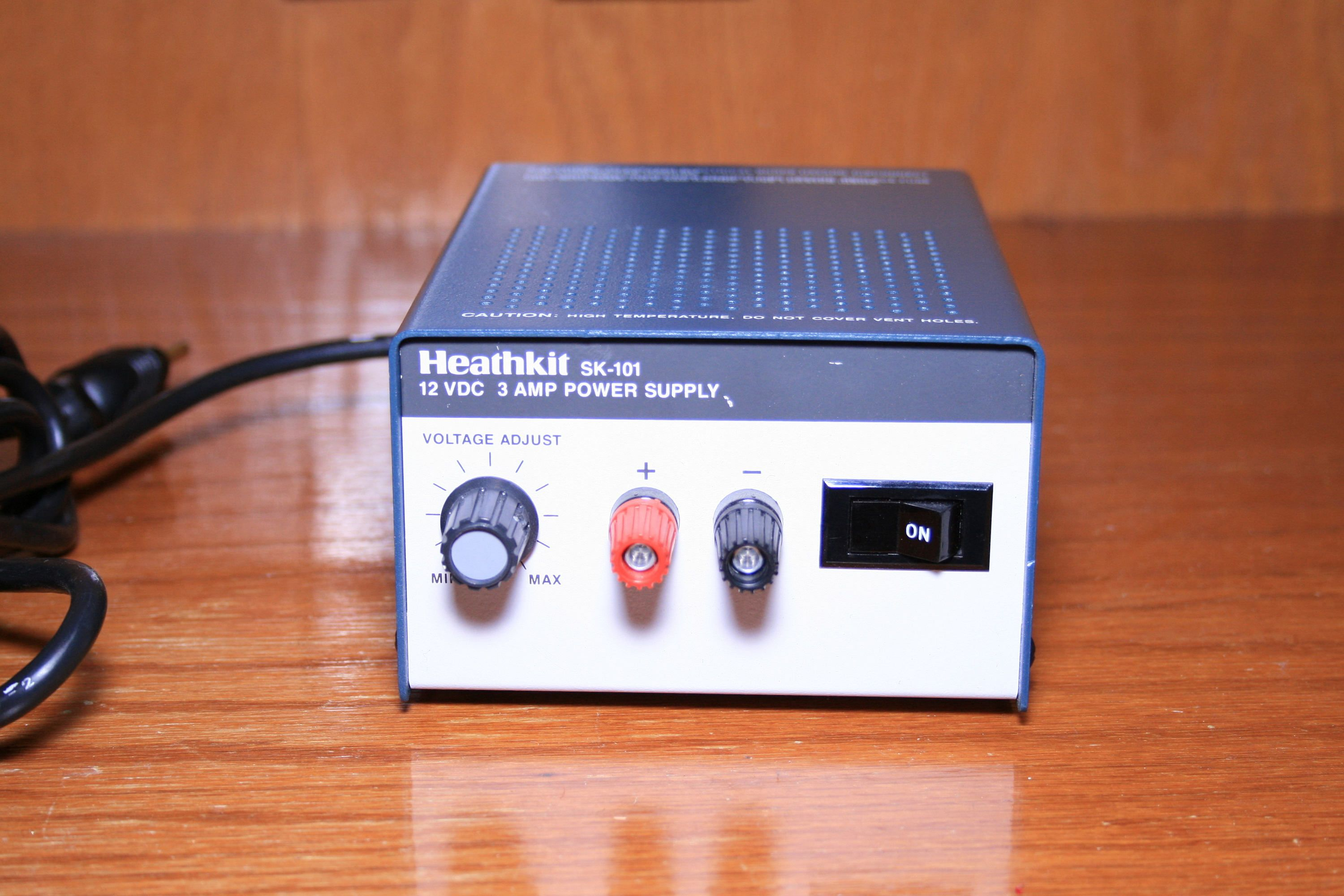 Vintage Heathkit Variable Power Supply Sk 101 412 Volts Etsy Power Supply Power Variables