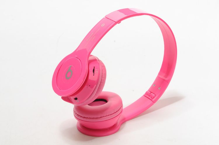 New Beats By DrDre Solo S450 Wireless Bluetooth Headphones Pink