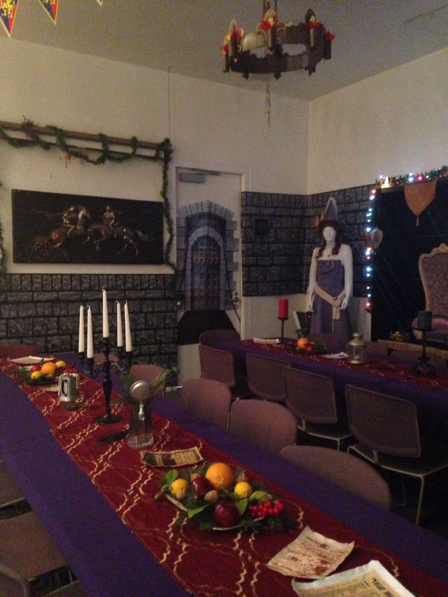 Xmas Wedding Table Decorations