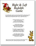 LEFT / RIGHT Gift Passing Game - Christmas Party Game | Staff ...