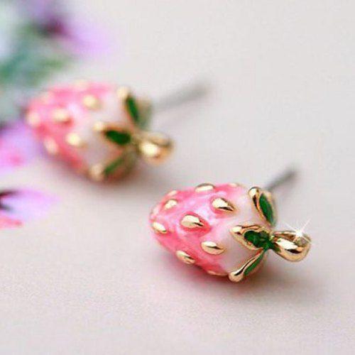 aretes fresas