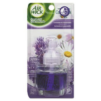 Scented Oil Refill, Relaxation Lavender & Chamomile, .67oz Bottle, Blue