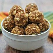 Skinny Pumpkin Energy Bites - Shugary Sweets