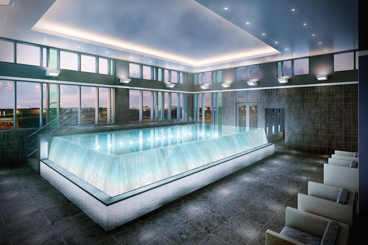 Indoor infinity pool ideas photo best design idea for Infinity pool ideas