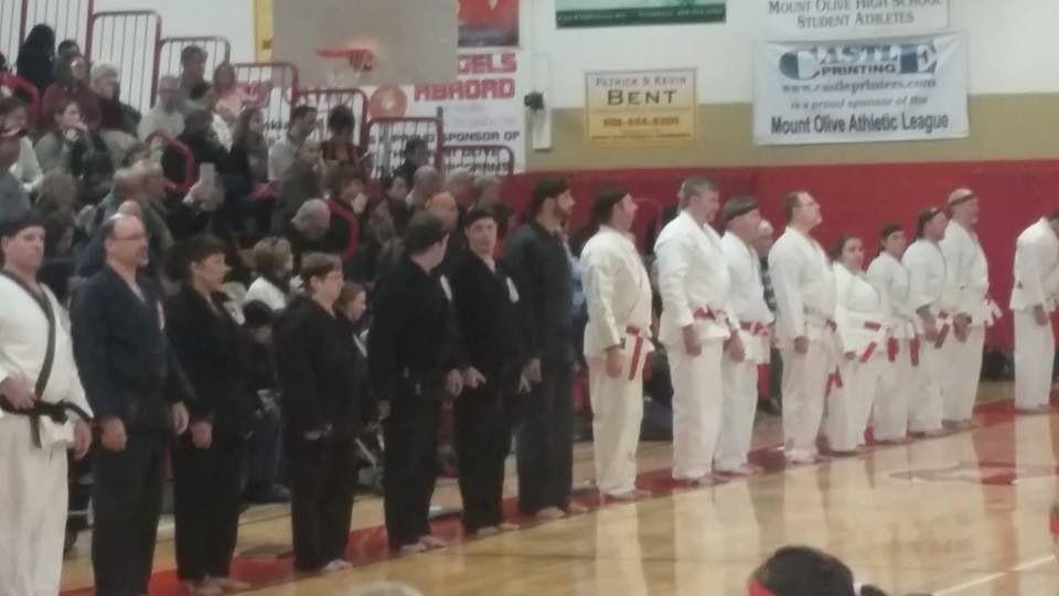 Dec 2014 shiai- instructor line close up