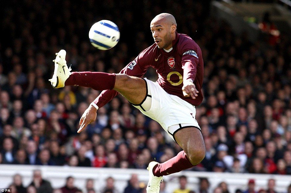 Thierry Henry tribute  Frenchman one of best to grace the game ... c95dbcc541aca