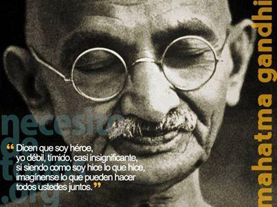 #Heroísmo #Unión #Gandi