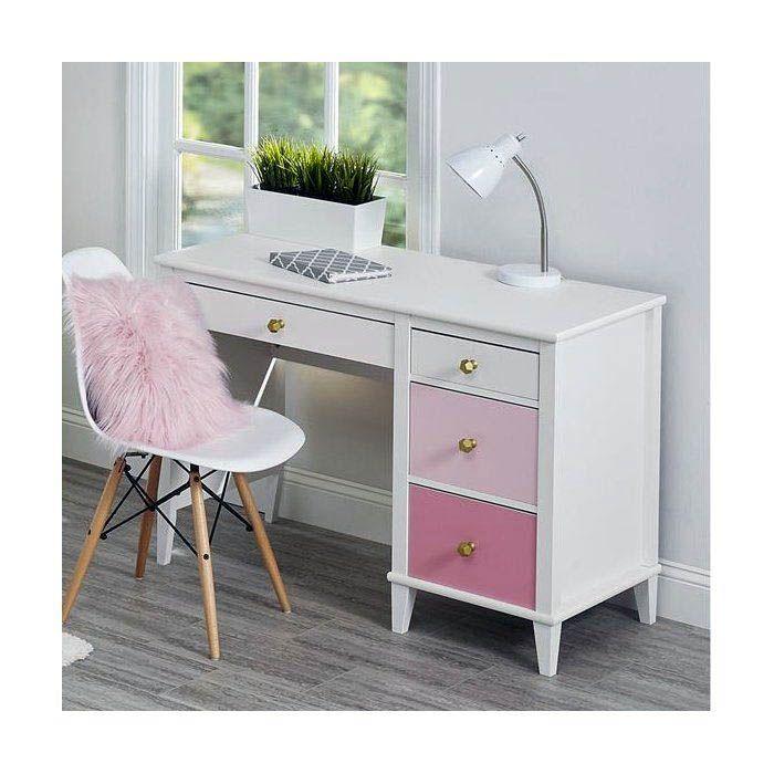 Fascinating White L Desk For Sale To Refresh Your Home Kids Room Desk Desk For Girls Room Room Desk