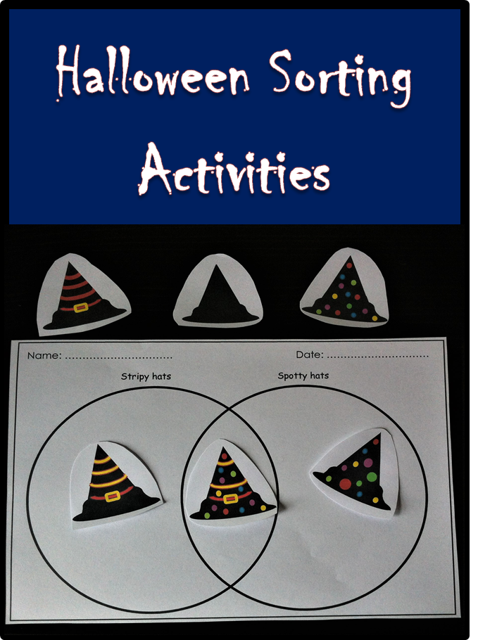 Free Halloween Counting And Sorting Activities Including A Tick