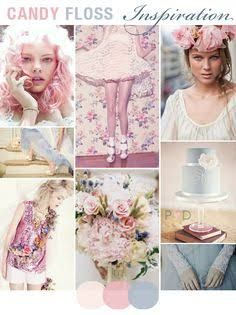 Why not go all out and go candy pink. very gentle colours. www.planmywedding.co.za