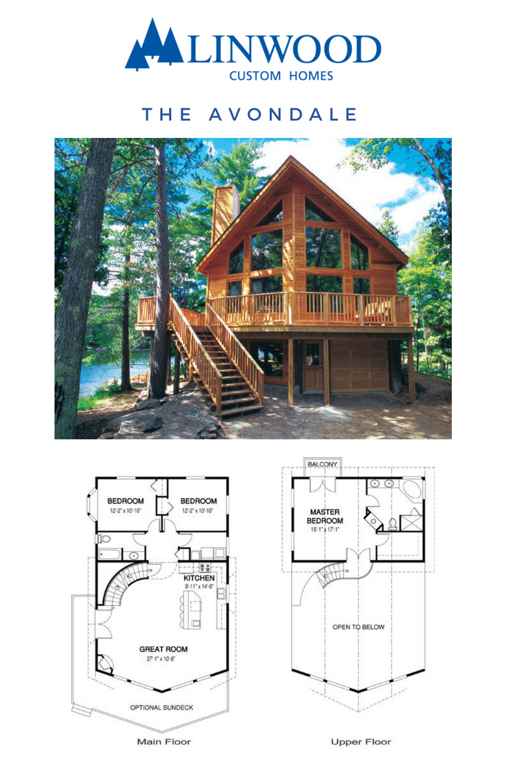 The Avondale Home Package Has A Beautiful Floor Plan That Fits In Three Good Sized Bedrooms As Well As A In 2020 A Frame House Plans Lake House Plans Cabin House Plans
