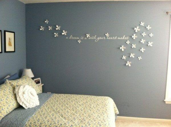 schlafzimmer deko ideen wand | dekor_ideen | pinterest