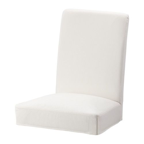 Henriksdal Housse Pour Chaise Grasbo Blanc With Images