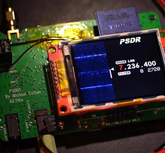 PSDR – Pocket HF SDR Transceiver with VNA and GPS | Hammin