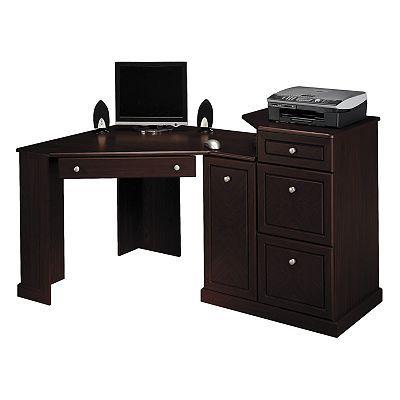 Small Corner Desk Computer, Bush Furniture Corner Desk