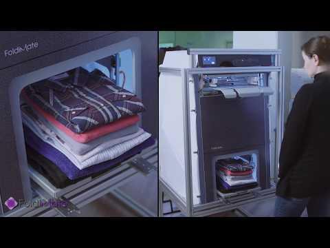Llega El Invento Del Siglo La Máquina Que Plancha Dobla Y Perfuma La Ropa En 4 Segundos Folding Machine Folding Clothes Ironing Machine